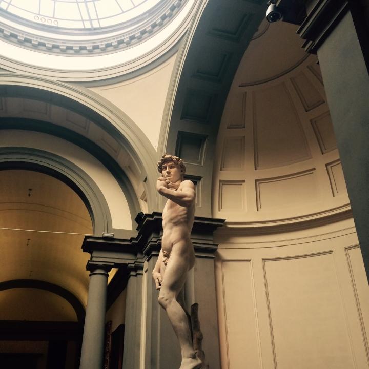 Le David de Michel-Ange exposé à galeriedell
