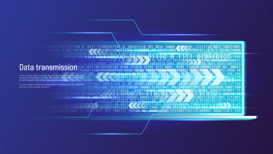 Data-transmission-technology-concept